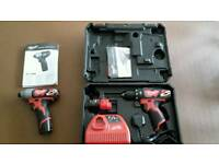Milwaukee Drill and Impact driver (new)