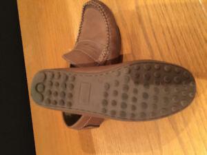 Boys Primigi all leather loafer