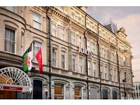 Receptionist, Jurys Inn, Cardiff