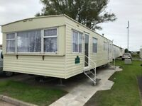 Elvis Weekend Portcawl 8 birth caravan available Trecco Bay