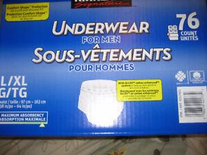 Men's XL Diapers