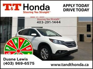 2012 Honda CR-V EX AWD *Bluetooth/USB, Heated Seats, Rear Camera