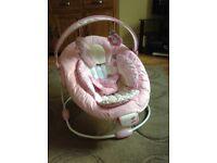 Bright start comfort baby bouncer chair