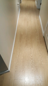 325 sq ft Wide plank 12mm laminate
