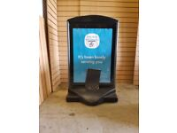 Large Promotional Sign Board, Great Condition. Cheapest Available on Gumtree.