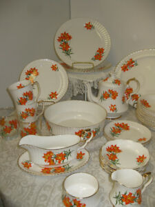 Prairie Lily Tiger Lily China -- FFOM PAST TIMES Antiques & Coll