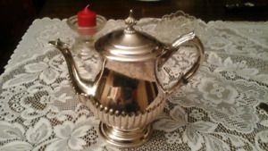 SILVER PLATED COFFEE POT OR TEA POT - GOOD QUALITY
