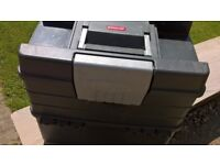 Grey Plastic Tool box