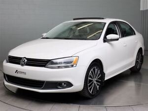 2013 Volkswagen Jetta HIGHLINE MAGS TOIT OUVRANT CUIR