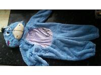 Eeyore soft onesie fancy dress costume 12-18 months EXCELLENT CONDITION