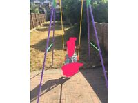 Swing with baby seat