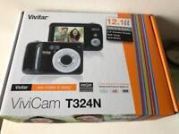 Vivicam t324n digital camera, with optical zoom, brand new