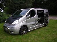 Renault Traffic 2.0 115 dci sport camper van 2012