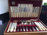 Priestley & Moore 66 piece cutlery