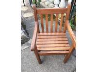 Child's garden chair