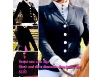 Bling equestrian Show Jacket
