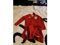 Children england goalie kit