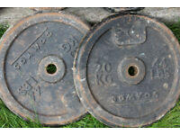 Weight Plates - 4 x 20kg