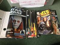 Collection Of Star Wars magazines