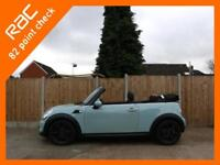 2013 MINI Convertible 1.6 Convertible 6 Speed Electric Soft Top Chili Pack Bluet