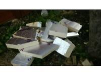 Celotex insulation board offcuts