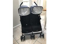 Maclaren twin techno (double stroller)
