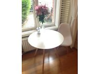 Table and chair mint condition