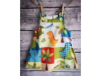 Dinosaur Dress, 3-6 months old