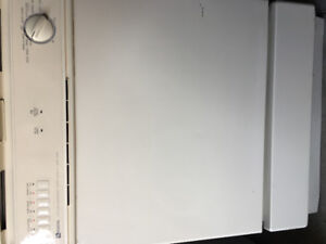 Off white built in dishwasher