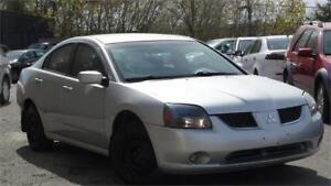 2006 Mitsubishi Galant ES with safety certificate