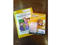 Fitzroy Reading Program Books 11x-20x + Worksheet Book for them