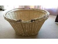 Laundry / Storage wicker basket
