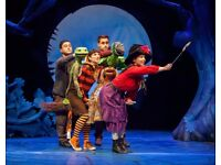 4 Tickets (Family Ticket) for Room on the Broom - @The Lowry - Quays Theatre