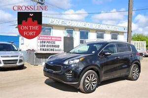 2017 Kia Sportage EX w/Black - Loaded Must See!