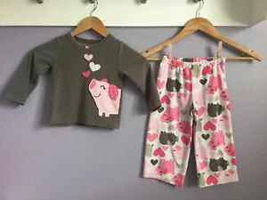 Girls Size 2T Pj's Retails for $100