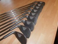 A Set Of 9. YASUDA IRONS . 3 TO S/W,