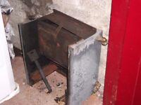 16'' grant back boiler