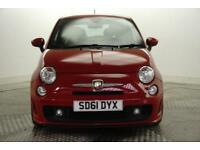 2011 Abarth 500 ABARTH Petrol red Manual