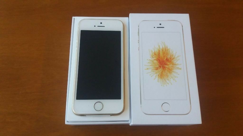 BRAND NEW APPLE IPHONE SE 16GB, GOLD,FACTORY UNLOCKED, BOXED AS NEWin Salford, ManchesterGumtree - HERE I AM SELLING AN APPLE IPHONE SE 16GB GOLD, FACTORY UNLOCKED, BRAND NEW COMES WITH ORIGINAL USB HEADPHONES CHARGER PLUG AND BOX CASH ON COLLECTION CAN DELIVER AT FUEL COST