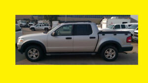 2007 FORD SPORT TRAC V6 4X4 AUTO WITH FULL SAFETY INSPECTION