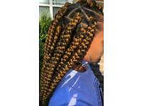 Hair braider/ box braids