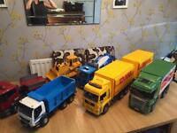 Bruder toy lorry bundle and iveco truck