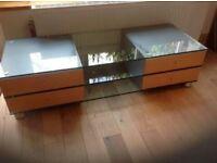 Spectral TV cabinet