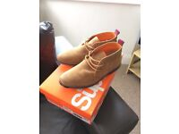 Men's Superdry Suede Boots - Size 9s