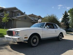 For Sale:  1980 Chevrolet Monte Carlo Landau