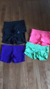 "Lululemon ""Boogie"" yoga shorts"