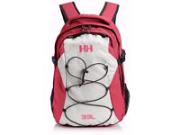 Helly Hansen / HH White and Pink Dublin Back Pack 33 Litre / 33L