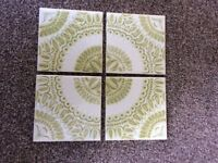 Full Box Vintage Original H & R Johnson Ceramic Tiles