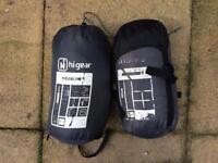 2 Hi Gear summer sleeping bags