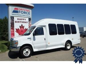 2015 Ford E-350 14 Passenger Bus, Dual Rear Wheels, 6,342 KMs